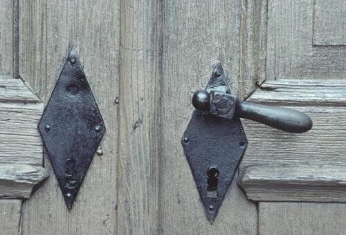 door handles, doors
